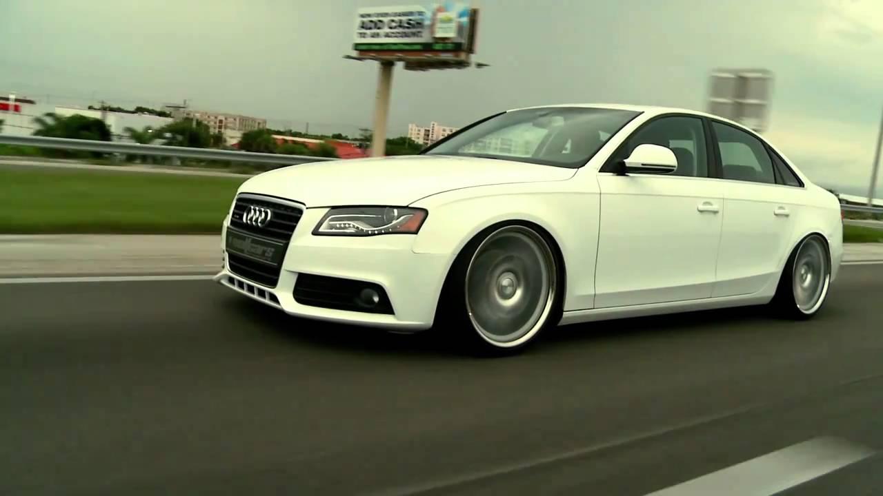 Audi A On Vossen VVSCV Concave Wheels Rims YouTube - Audi a4 wheels