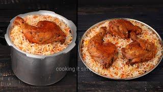 കകകറൽ എളപപതതൽ പർഫകററ ചകകൻ മനതchicken mandi  in cookerarabic mandirestaurant mandi