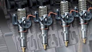 Регулировка насос-форсунок Volkswagen(На примере 2-литрового атмосферного дизельного двигателя автомобиля Volkswagen Caddy, Bigman и его коллега покажут..., 2015-12-24T20:58:14.000Z)
