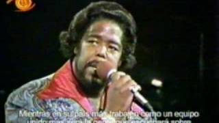 BARRY WHITE EN CHILE - Never never gonna give you up