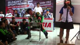 Body Positioning Lesson from Susato-san at Sunday Sport Riding 2 Sentul, 15 Dec