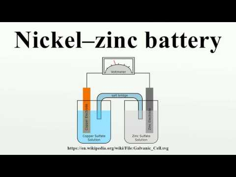 Nickel–zinc battery