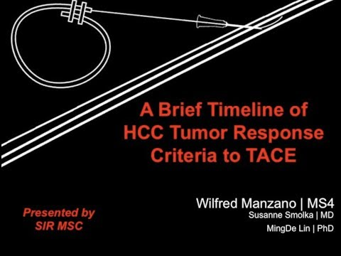 SIR-MSC (8/24/2017): A Brief Timeline of HCC Tumor Response Criteria to TACE thumbnail