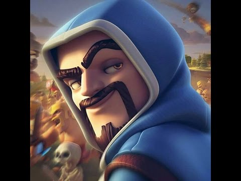 Cmo dibujar al mago de clash royale  YouTube