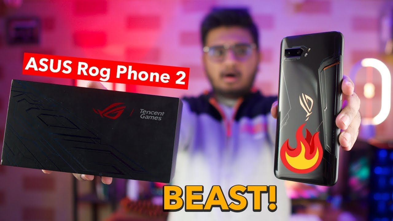 Asus Rog Phone 2 Unboxing Price In Pakistan Youtube