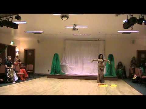 Akasha dancing to Rej Project-Harem and Shik Shak Shok