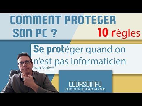 Comment protéger son ordinateur contre le piratage quand on n'est pas informaticien?
