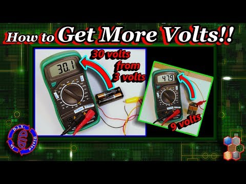 Power Boost - How To Get More Volts From Batteries
