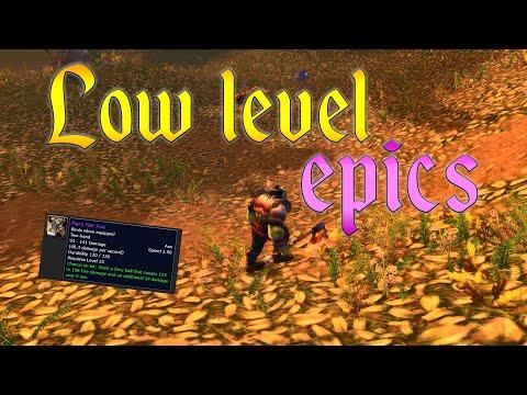 Low Level Эпики. WoW Classic