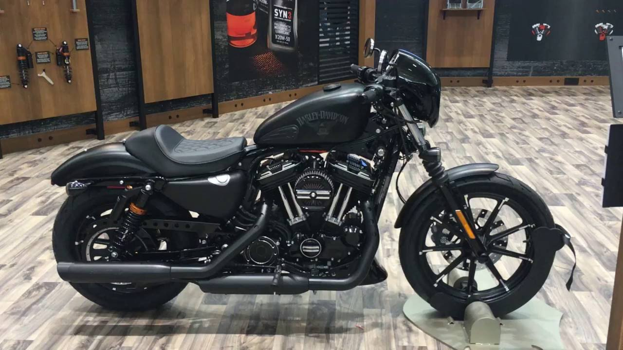 2017 xl883n iron 883 harley davidson customized youtube. Black Bedroom Furniture Sets. Home Design Ideas
