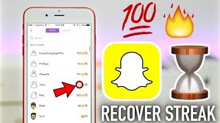 How to Get Snapchat Streak Back After You Lose It (NEVER LOSE STREAK AGAIN)
