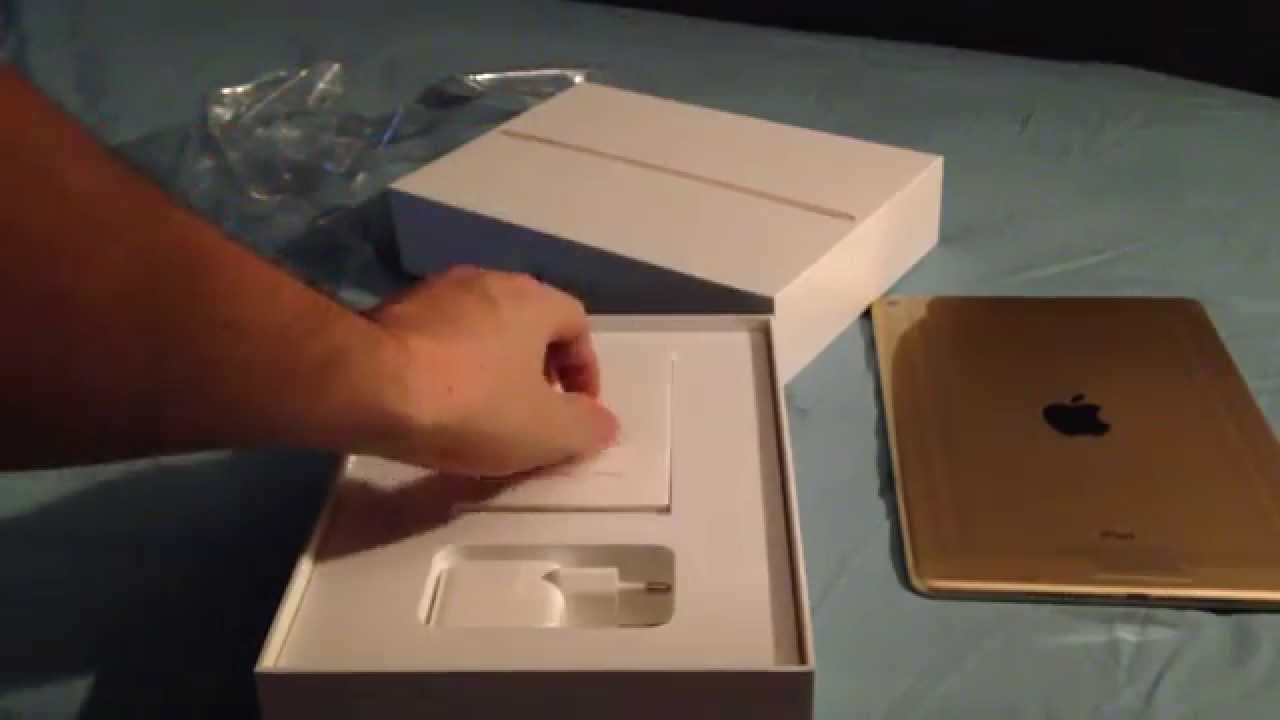 ipad air 2 64 go gold edition youtube. Black Bedroom Furniture Sets. Home Design Ideas