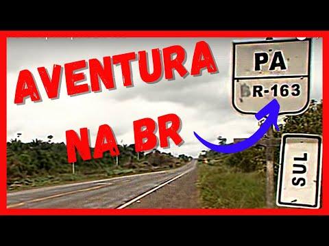 Parte 1 Viagem de Santarém a Rurópolis pela BR 163