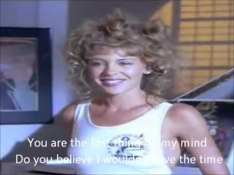 Kylie Minogue Turn it into love with lyrics