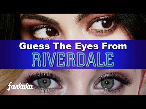 K.J. Apa Or Cole Sprouse? Guess RIVERDALE Stars' Eyes! | Fanlala TV