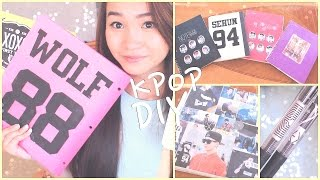Diy K-pop School Supplies!♡binders, Notebooks, Pens, Etc.