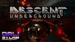 Descent: Underground Early Access PC 4K UltraHD Gameplay 60fps 2160p