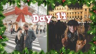 EXPLORING VIENNA AT CHRISTMAS!   VLOGMAS DAY 14 - CHRIS & EVE