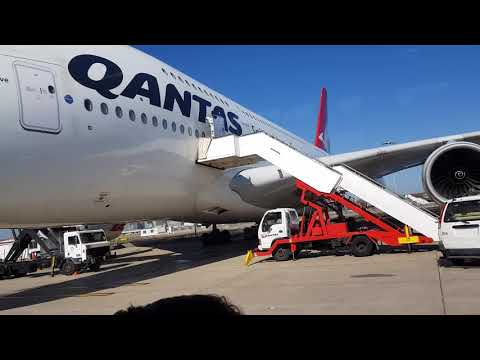 Transit At Sydney Airport 13th Dec 2017