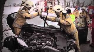 Pompiers Genève - Accident de circulation à Laconnex