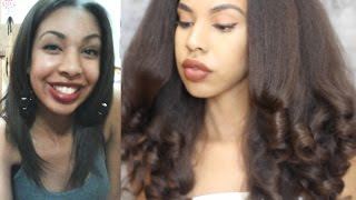Get THICKER NATURAL hair, eyelashes, and eyebrows with Jamaican Black Castor Oil