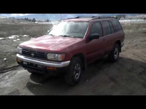 1998  nissan Pathfinder 4×4 230k auto new tires for sale missoula MT $2419