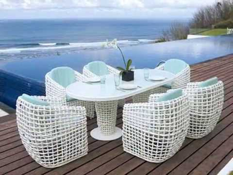 muebles de rattan muebles para el hogar terrazas y jardin youtube. Black Bedroom Furniture Sets. Home Design Ideas