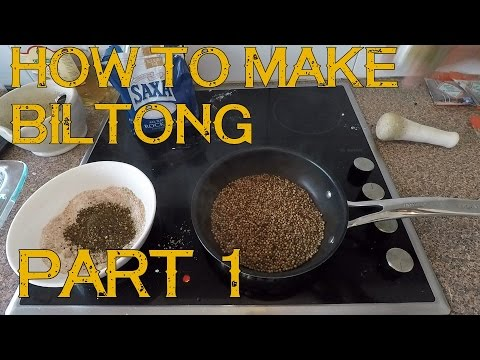 How to Make Biltong Spice from Scratch