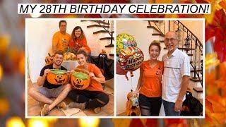 MY 28TH BIRTHDAY CELEBRATION! | VLOG