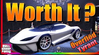 IS IT WORTH IT ? The New Tyrant Podium Car Free Lucky Wheel GTA 5 Online Review & Customization