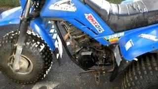 Yamaha tri moto ytm 225 atc three wheeler watch the video for Yamaha 200e 3 wheeler