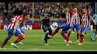 アトレティコ・マドリード vs レアル・マドリード 2-1 ゴールハイライト 2017年5月11 チャンピオンズリーグ