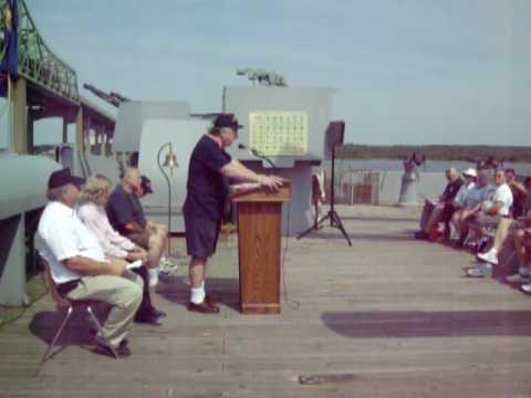 Crew Member Memorial Service for USS Richard S. Edwards DD 950 Association