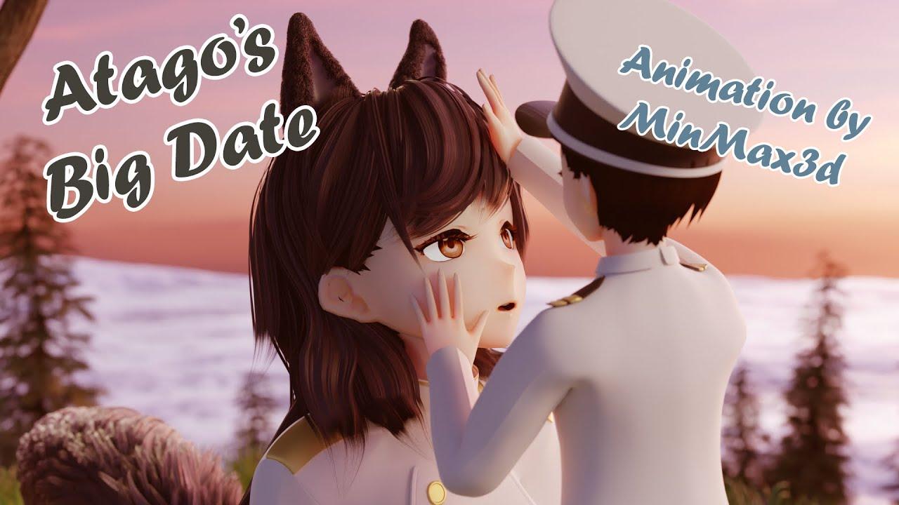 Download [Mini-Giantess Growth] Atago's Big Date