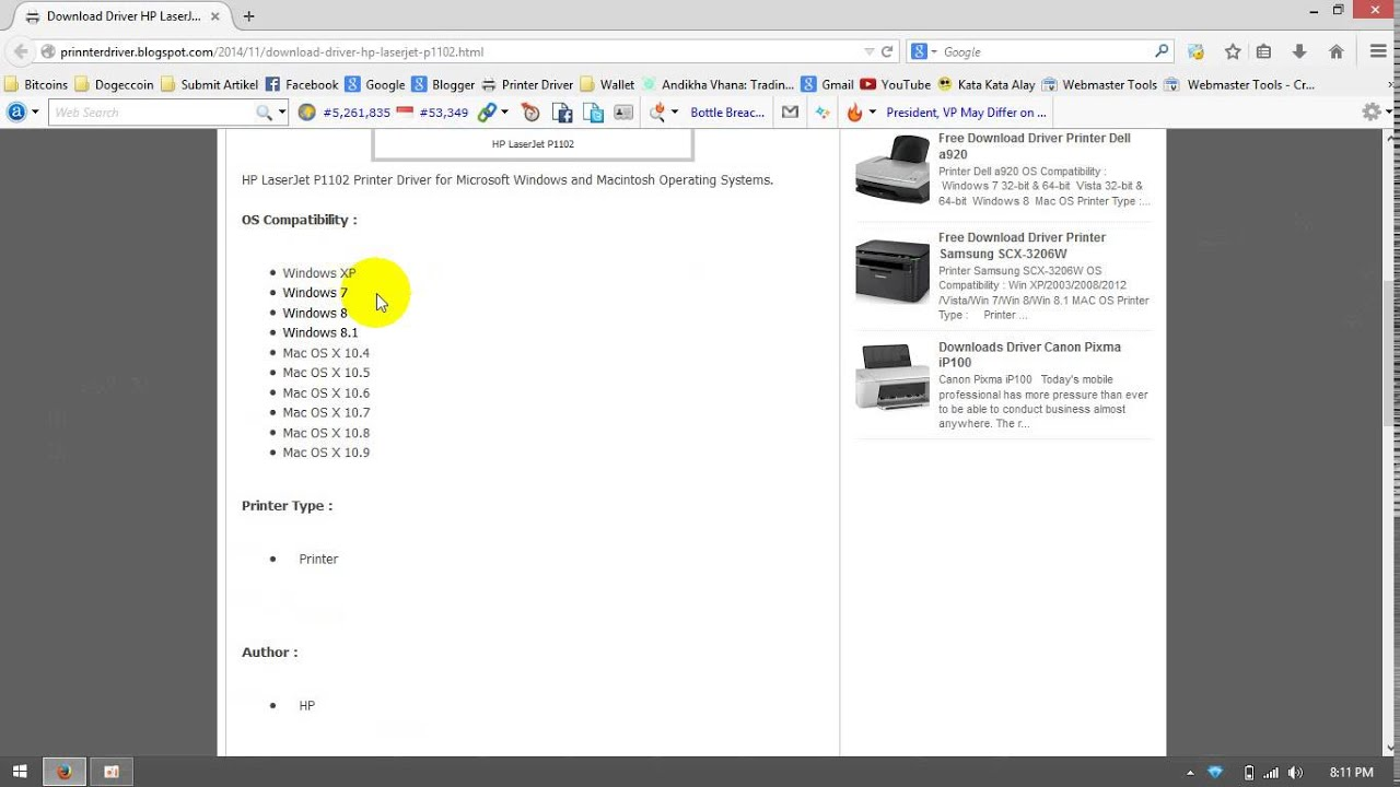 Solved: hp laserjet p1102w unable to install on windows 7 64-bit.