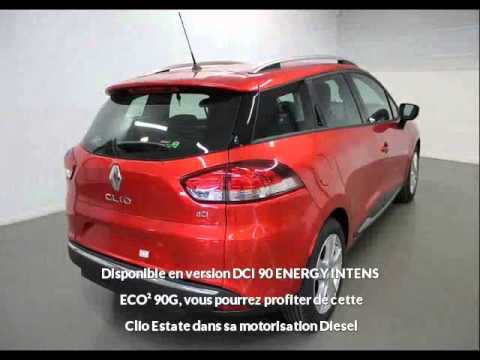 renault clio estate dci 90 energy intens eco 90g vendre. Black Bedroom Furniture Sets. Home Design Ideas