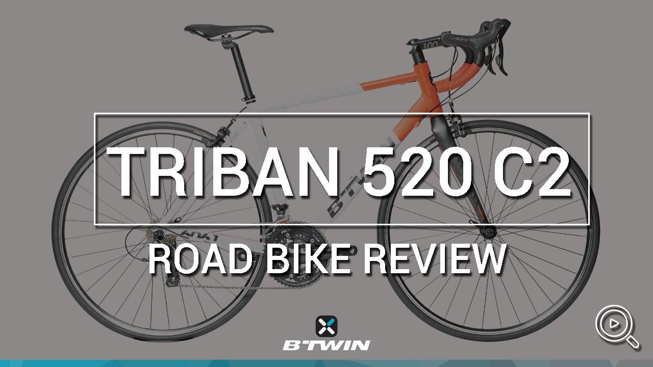 ROAD BIKE Trinban 520 C2 - B'TWIN // VÉLO DE ROUTE Triban 520 C2 - B'TWIN