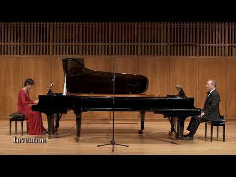 Jeremy Menuhin Suite for Two Pianos in the Baroque manner (2016)