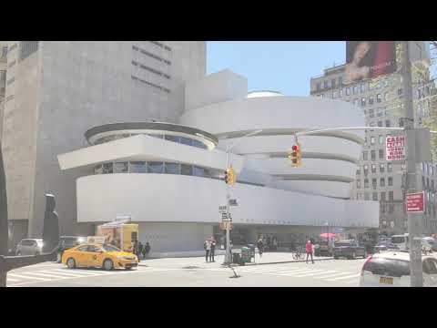 Comparing the MoMA and the Guggenheim Museum