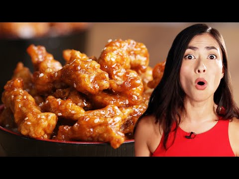 I Tried Authentic Chinese Sweet and Sour Pork For The First Time • Tasty