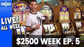 Baixar 🔴 FRI LIVE 👍➡️ Ep. 5 💰 $2500 @ San Manuel Casino ✪ BCSlots (S. 13 • Ep. 5)