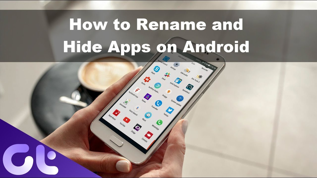 How to hide dating apps on android