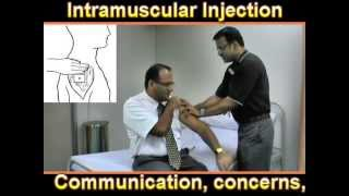 Intramuscular Injection.. Procedure Explained