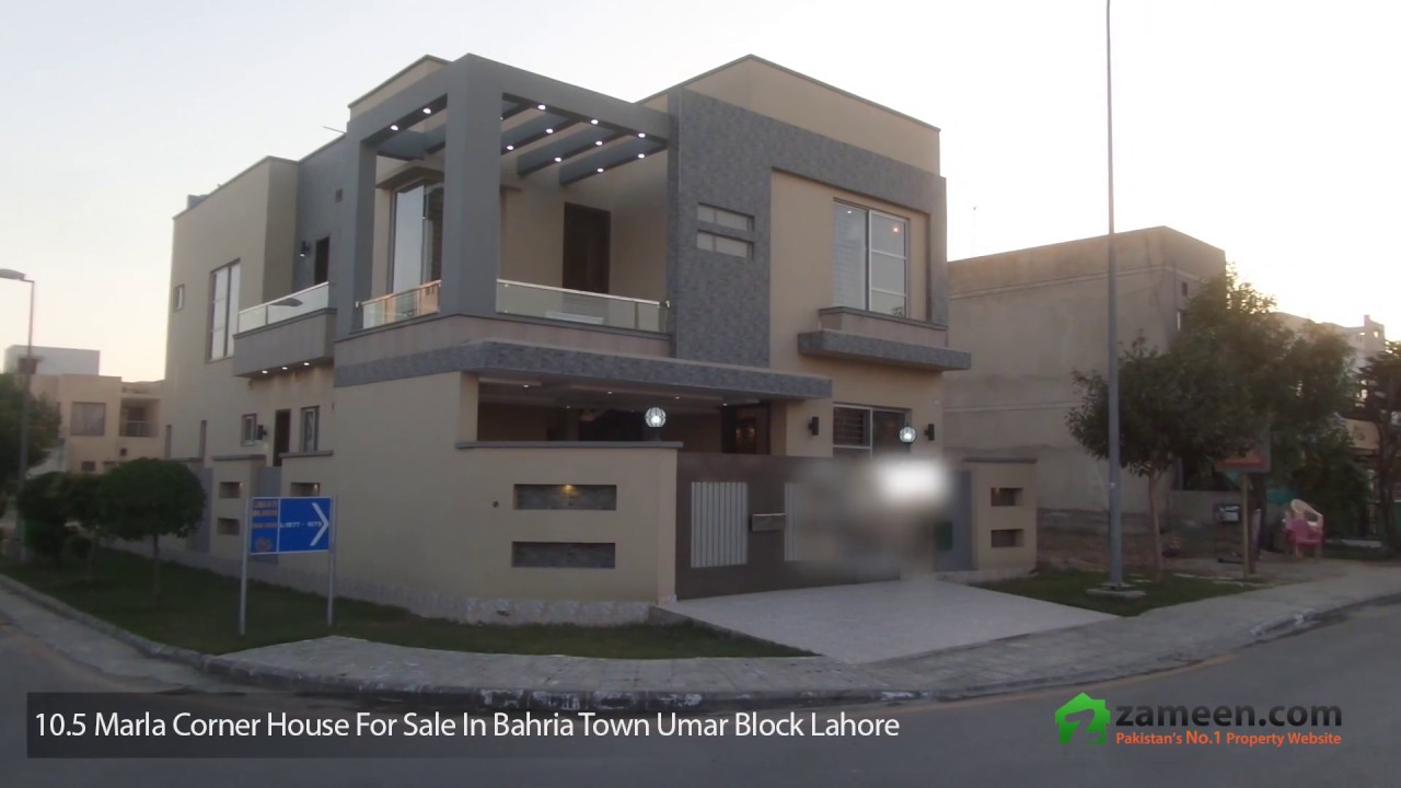 10 5 marla corner house for sale in bahria town umar for 8 marla home designs