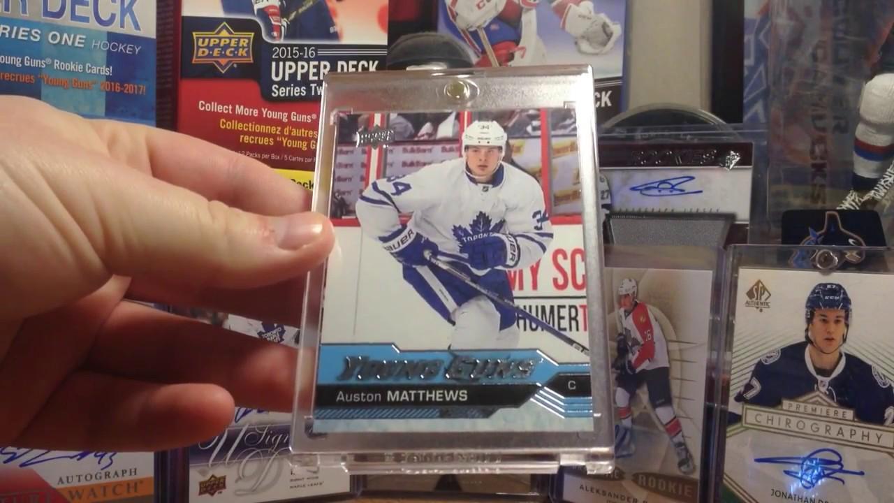 Hockey Card Mailday 1 Auston Matthews Young Guns Rookie Card Showcase
