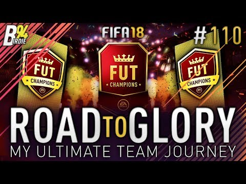 FUT Champions Rewards!!! - FIFA 18 RTG - #110 - My Ultimate Team Journey