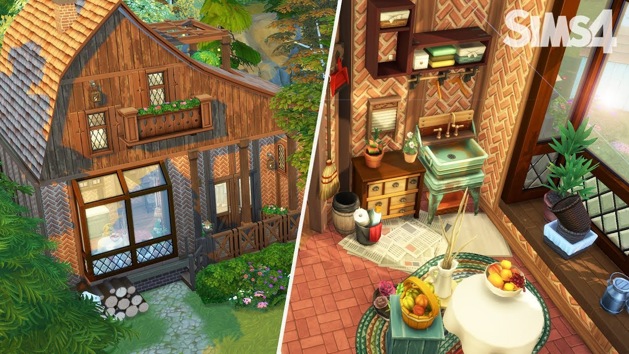 la grange aux chiots sims 4 jour de lessive youtube. Black Bedroom Furniture Sets. Home Design Ideas