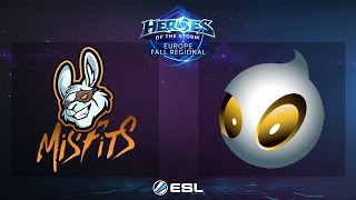 HotS - Misfits vs. Dignitas - ESL EU Fall Regional 2016 - Final