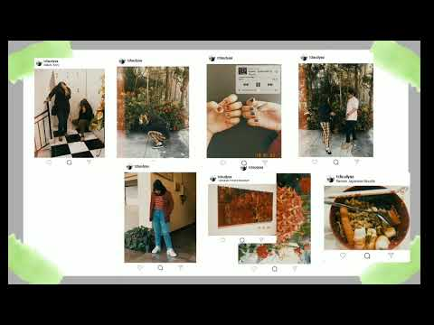 ✨ How To Make Aesthetic Vintage Instagram Feed ✨ Free App ( 1998 Cam ) 💫