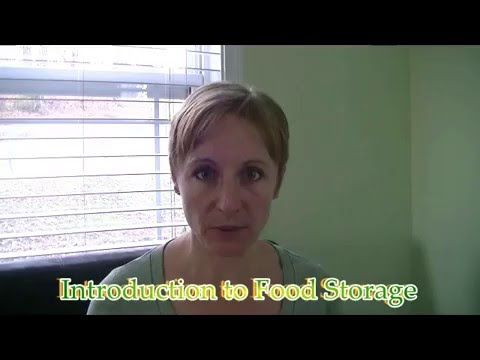 Introduction to Food Storage